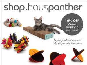 Hauspanther Floppycats Holiday Ad 2014