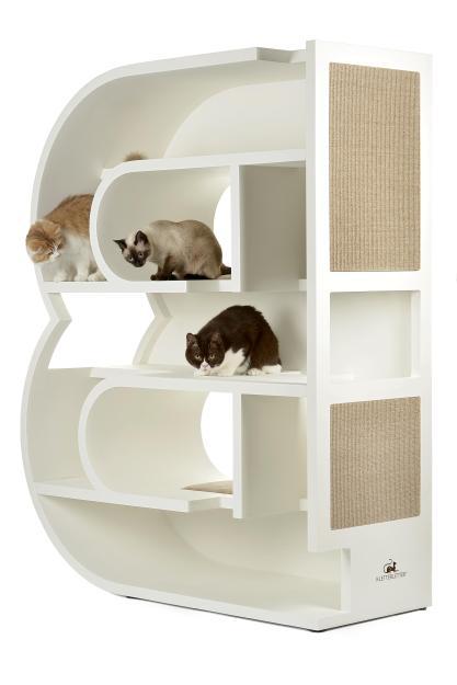 KletterLetter Alphabet Letter Cat Tree Furniture