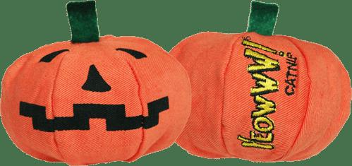 Yeowww Halloween Pumpkin Catnip Toy