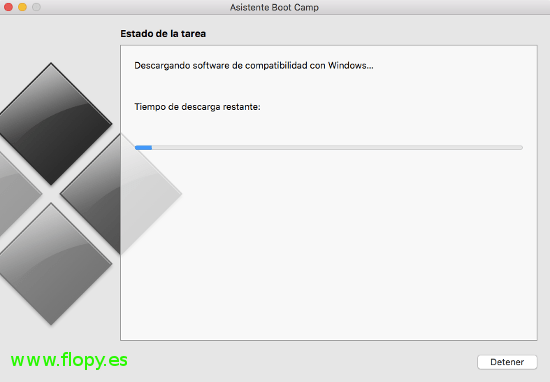 Descargando software de compatibilidad