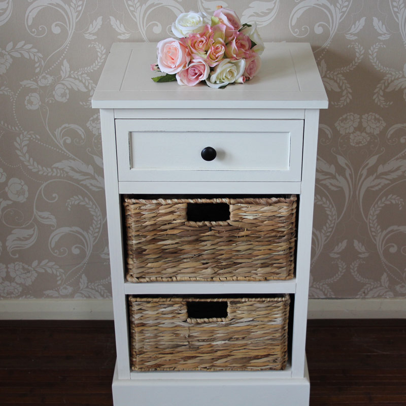 Wicker Painted Cabinets