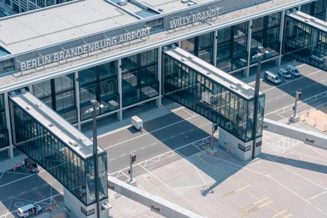 Still ruht der neue Flughafen (Foto: Günter Wicker / Flughafen Berlin Brandenburg)