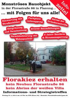 Informationstreffen Weiße Villa
