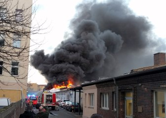Feuer Mühlenstraße