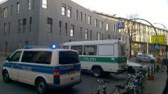 Die Florastraße war dicht