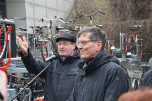 Jens-Holger Kirchner und Christian Gaebler © Michael Hielscher