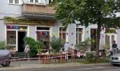 Das Café Eigenartich profitierte von der Musik aus dem benachbartem Haus.