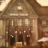 Der Bahnhof Pankow, ein Werk von Ricarda Klein