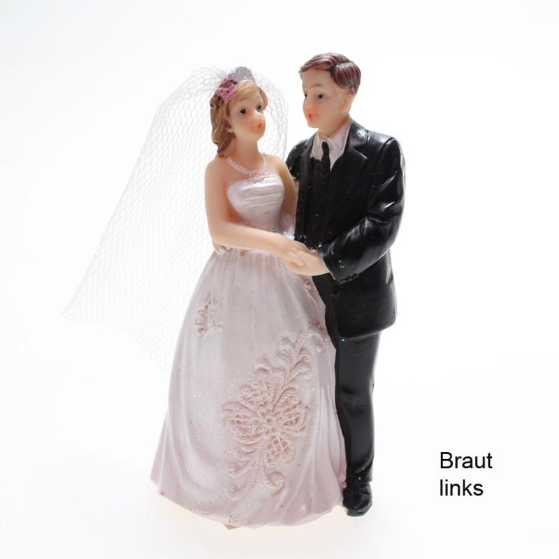 Brautpaar Ehepaar Hochzeitspaar Torte Tortenaufsatz 9cm