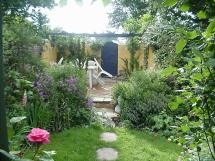 Lush Tropical Floral & Hardy London Uk