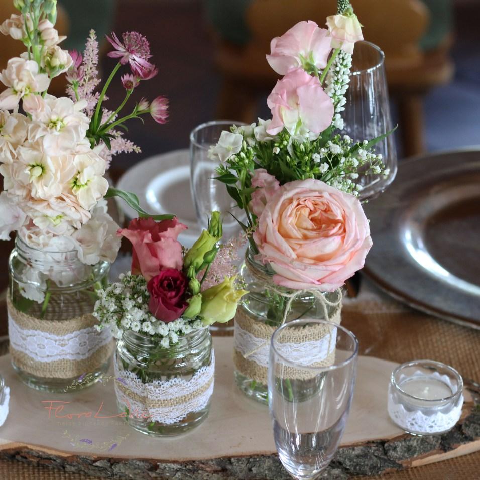 FloraLaVie_Tischdekoration im Vintage Stil 2422