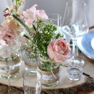 FloraLaVie_Tischdekoration im Vintage Stil 2434