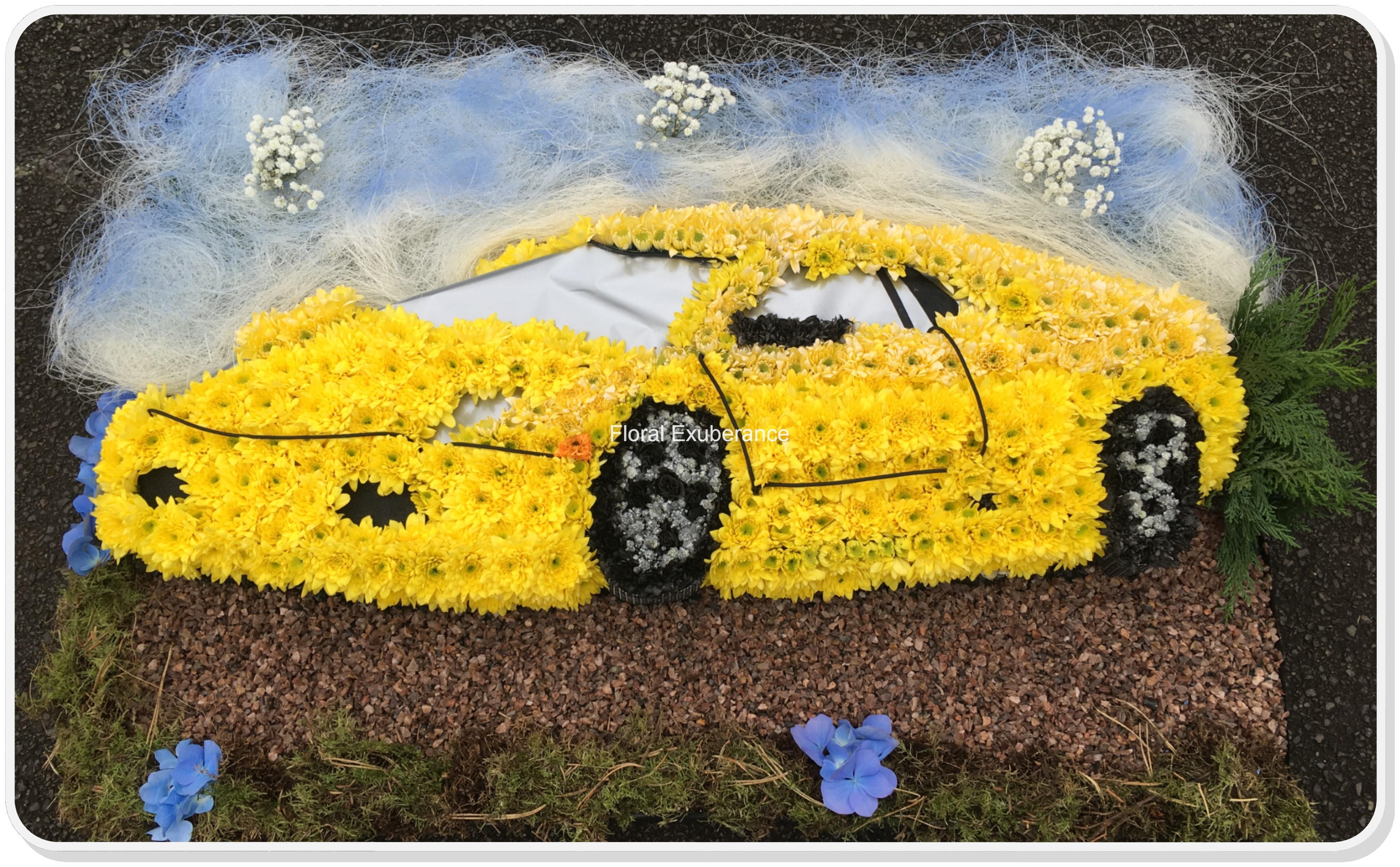 Lamborghini funeral flower tribute floral exuberance lamborghini funeral flower tribute izmirmasajfo