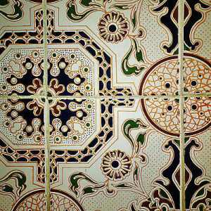 Patterned Tiles - Moroccan patterned tiles