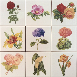 Flower Tiles by FloralTiles.co.uk