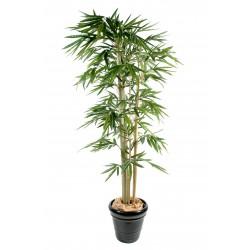 bambou artificiel feuille large