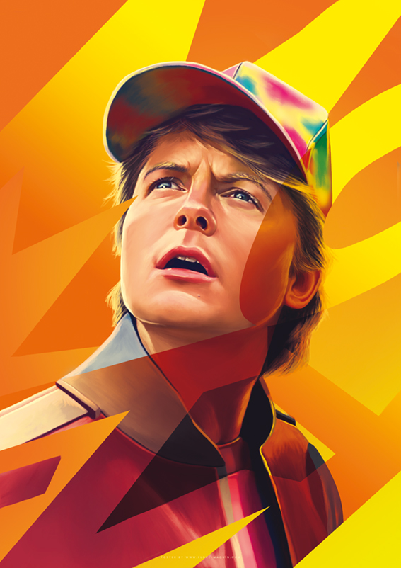 Marty McFly  Flore Maquin