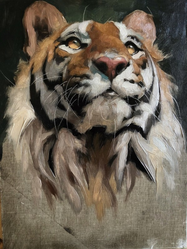 Jen Gennari Tiger Paintings