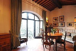 Villa Vespucci  Porcin de villa histrica in Florencia