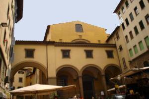 Santa Felicita Florencia La iglesia de Santa Felicita in