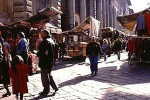 Mercados Florencia Los mercados en el centro histrico