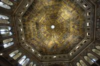 The Ceiling Mosaic in Florence Baptistry (San Giovanni)