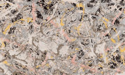 Jackson Pollock, Number 27, 1950. Oil, enameland aluminum painting on canvas
