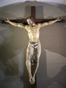 Santa Croce in Florence, Donatello crucifixion (1406-1408)