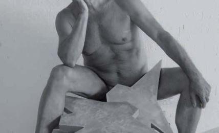 Franco Ionda, Amorino, 2014, L'opera al nudo