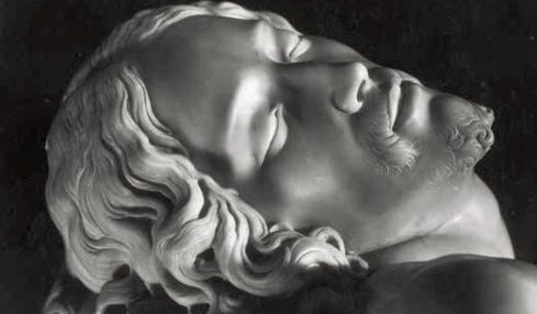 Renato Sansaini, Michelangelo, La Pietà (detail),