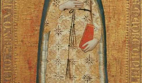 Nardo di Cione, Madonna del parto (1355-1360), Museo Bandini