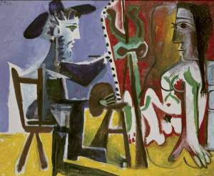 Pablo Picasso - The Painter and the Model