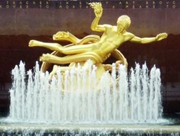 Giusto Manetti Battiloro for Prometeo, Rockefeller Center, Manhattan, New York