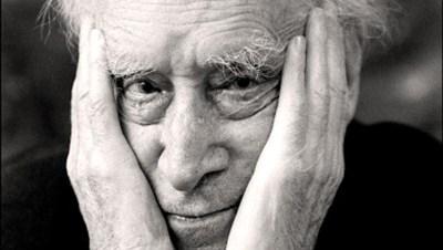 Il poeta fiorentino Mario Luzi