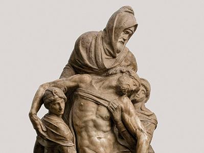 Pietà di Michelangelo (1547-1555)