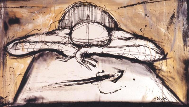 L'illustrazione è realizzata da MISOLA, ovvero Michele Isola, Phone 340 0836990