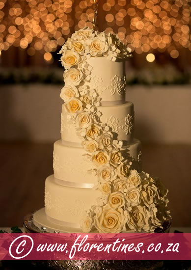 Wedding Cakes Cape Town  Florentines Cakes  Cape Town Wedding Cake Bakery