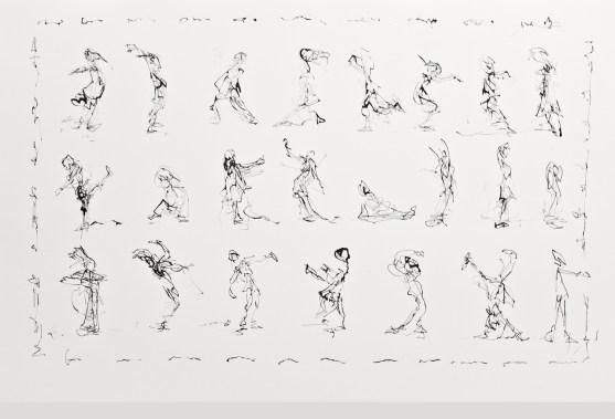 Mouvements dansés