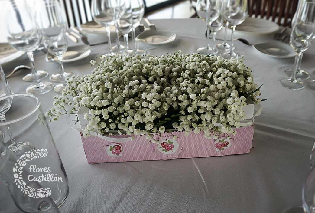 Centros de mesa para tu banquete de bodas Cmo hacer que