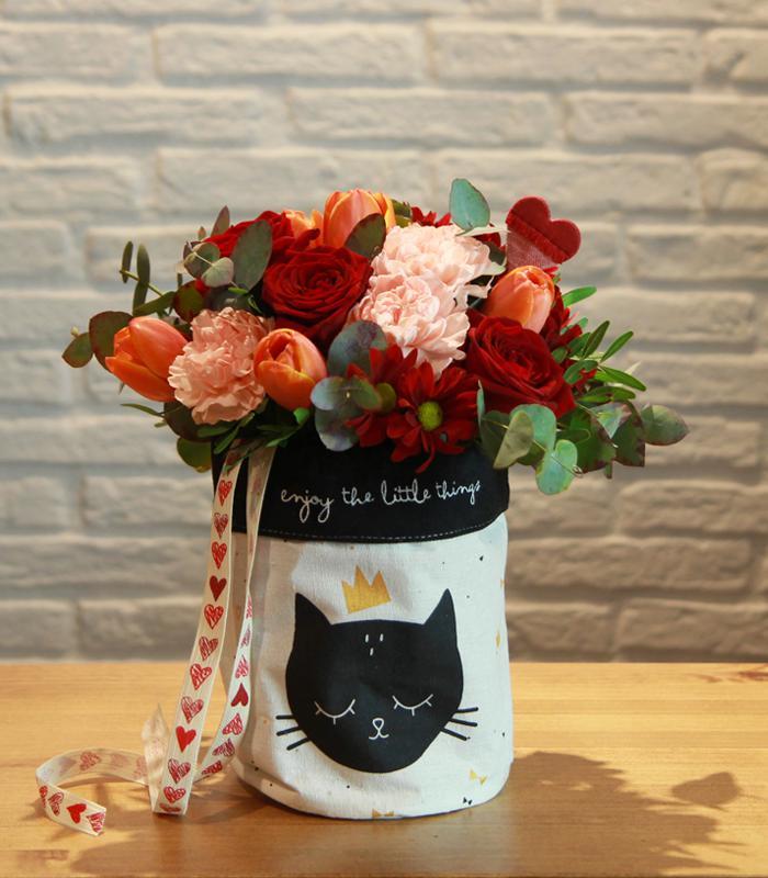 flores de san valentin