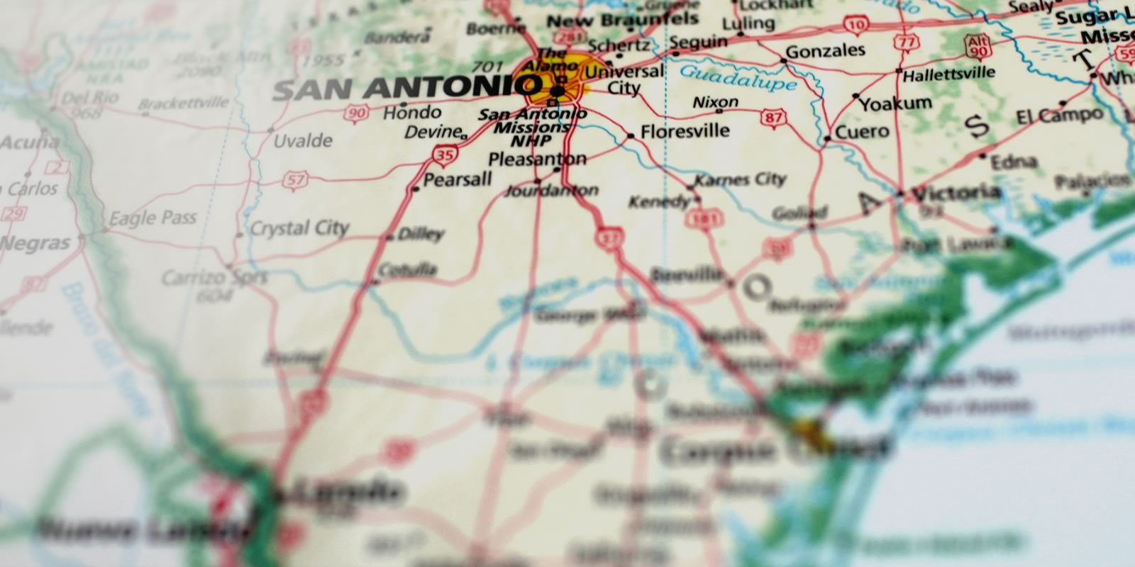 Map City Of Floresville