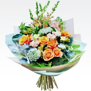 Flowers & Bouquets Peachy Keen Bouquet