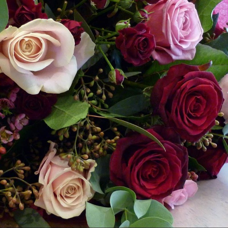 chair covers scotland wrought iron foot pads florette flowers | paisley florist renfrewshire valentines