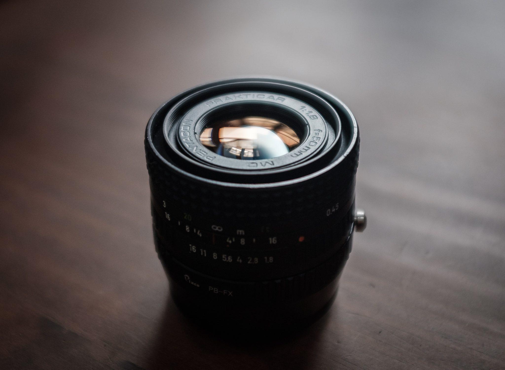 Pentacon 50mm/1.8