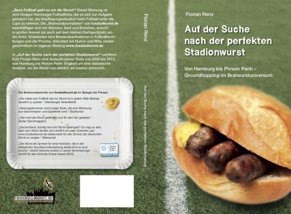 """Der Buchumschlag von """"Auf der Suche nach der perfekten Stadionwurst"""""""