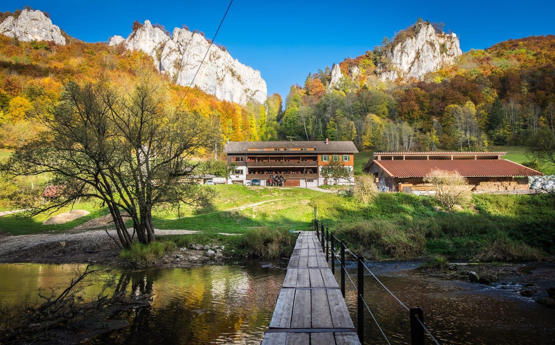 Jägerhaus und Oberes Donautal