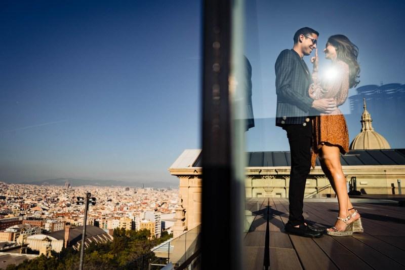 hill-Engagementshooting Barcelona