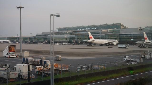 Japan Reisebericht - Haneda Airport