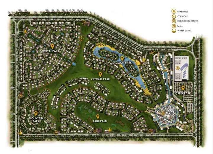 مخطط ماونتن فيو أى سيتى 6 أكتوبر Mountain View I City 6 October (14)