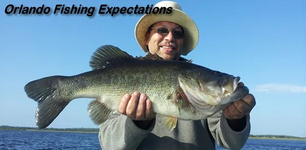 Orlando bass fishing guide service for florida bass fishing for Bass fishing orlando